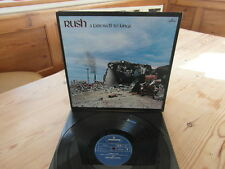 "RUSH - A FAREWELL TO KINGS-EARLY UK PRESS-""SUPERB AUDIO""EX+ VINYL LP 1977"