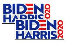 "Biden Harris 2020 Joe Kamala President Election Decals 2 pack 5"" bumper stickers"