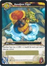 WOW SANDBOX TIGER Loot Card Unscratched NEW Sandbox Tiger Loot