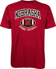 Nebraska Cornhuskers Spring Football XL Red Adidas The Go To Tee-Shirt  New