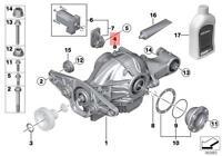 Genuine BMW E31 E34 E36 E38 Manual Transmission Bleeder Valve OEM 23137507652