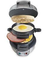 Hamilton Beach 25475 Breakfast Sandwich Maker Quick and Easy