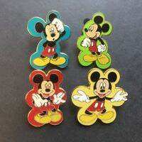 Mickey Mouse Expressions Booster 4 Pin Collection - Disney Pin 50458