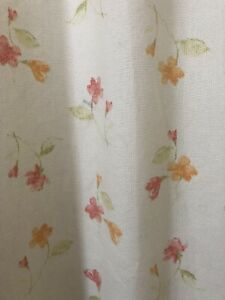 L Ashley look Curtains  - 2 Pairs 54 W  x 90 Drop -  pinch pleat - thermal lined