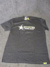 Rockstar Energy Mens Casual motocross/bmx/skate t-shirt black x/large RC003