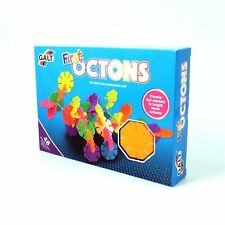 First Octons Set for Age 3-10 Years Construction 48 Pieces Galt Toys Building