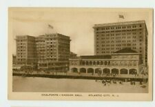 Vintage Postcard Chalfonte Haddon Hall Atlantic City New Jersey