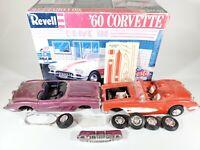 REVELL 1989 VTG '60 CHEVY CORVETTE SKIP'S FIESTA DRIVE-IN Series 1:25 PARTS Kit