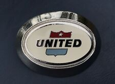 United Airlines Ground Personal Hat Badge Agent Crew Wings 1970's