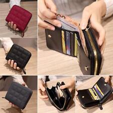 Hot Women Lady Purse Clutch Wallet Zipper Bifold Leather Card Holder Small Bag