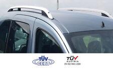 Barres de toit longitudinales Peugeot Partner Tepee 09/07>2018 alu