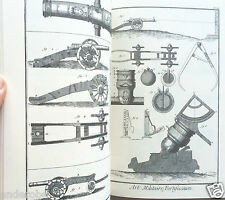 DIDEROT/d'Alembert 1700s MILITARY ARTS Arms/Crossbows/Catapults/Cannons w/PLATES