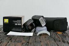 Nikon Speedlight SB-900 Blitzgerät inkl. Zubehör + OVP - Leica Store Nürnberg