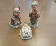Lot Set of 3 Goebel 1996 Mary Joseph Jesus SC