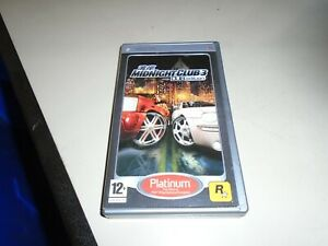 Midnight Club 3 - DUB Edition - PSP - Platinum Edition