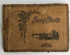 Early 20th C Waco, Texas Souvenir Scrap Book Photo Album