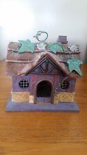 Decorative Wooden / Metal Cottage Birdhouse