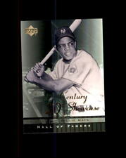 2001 Upper Deck Hall of Famers 20th Century Showcase #S11 Willie Mays Giants