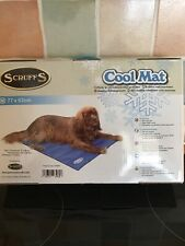 SCRUFFS COOL MAT ~ Self Cooling GEL Bed HEAT RELIEF AID MATTRESS Dog Cat Pet M
