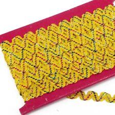 "Hemline RIC RAC /"" Lilac /"" TRIM 5m x 5mm wide 100/% polyester"