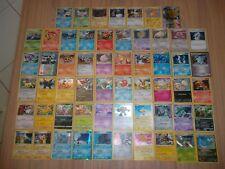 LOT DE 57 CARTES POKEMON HOLO ULTRA RARE EX PROMOS SECRET DISPLAY CARDS BOOSTER