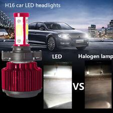 LED Fog Light H16/5202 LED Headlight Replacement 6500K Light Bulbs 8000LM