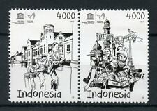 Indonesia 2017 MNH UNESCO World Press Freedom Day 2v Se-tenant Set Stamps