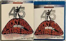 THE ROCKY HORROR PICTURE SHOW 45TH ANNIVERSARY EDITION BLU RAY + SLIPCOVER