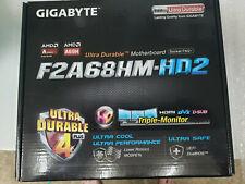 Gigabyte GA-F2A68HM-HD2 Motherboard +  AMD 6300 Processor Bundle New In Box