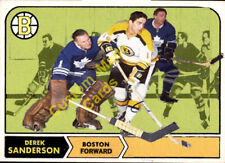 Custom made opc 1968-69 Boston Bruins  Derek Sanderson  Hockey  card