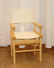 Chaise fixe en bois MOULIN ROTY NEUVE enfant de 18 mois à 6 ans BRODERIE PRENOM