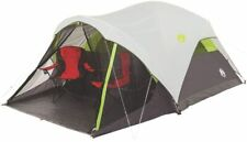 Tent Camping Coleman 6 Person Fast Weatherproof Durable Screened Porch 10' x 9'