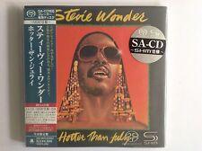 Stevie Wonder: Hotter Than July Japan Mini LP SACD - Sealed