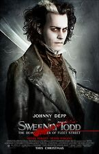 Sweeney Todd movie poster : 11 x 17 inches : Johnny Depp Poster (style a)