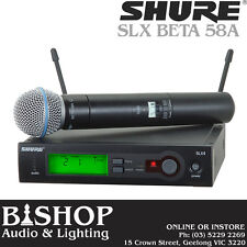 Shure SLX24 / BETA58 Wireless Handheld System