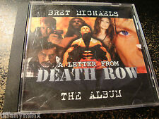 BRET MICHAELS solo poison cd A LETTER FROM DEATH ROW free US shipping