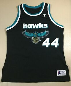 Vintage Hawks #44 Basketball-Other College NCAA Champion Jersey Size48