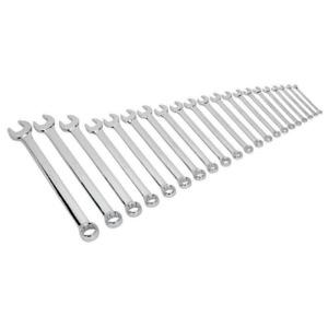 Sealey Combination Spanner Set 21pc Jumbo Metric Garage Workshop DIY