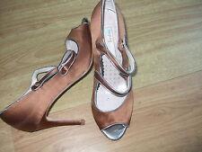 BODEN heels size 7 ==41 CHIC SATIN  HIGH HEELS  (SHU19)