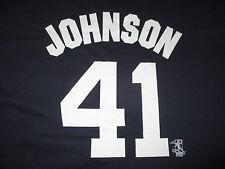 Majestic RANDY JOHNSON No 51 NEW YORK YANKEES (2XL) T-Shirt Jersey THE BIG UNIT