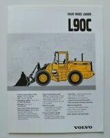 VOLVO Wheel Loader L90C 1997 dealer brochure catalog - English - USA