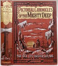 1890 Pictóricos Chronicles De Poderoso Deep Capitán James Cook Piratas Esclavo