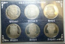 More details for complete set of british monarchs medallions 42 in total all uncirculated & cased