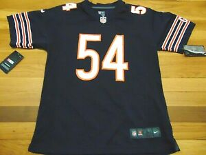 NIKE NFL ON FIELD CHICAGO BEARS BRIAN URLACHER JERSEY SIZE YOUTH L (14-16)