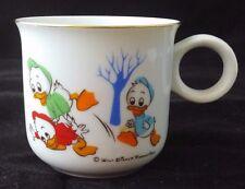 Vintage Sango China Walt Disney Productions Coffee Tea Cup Donald Duck & Nephews