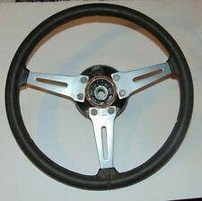 Triumph TR6 Factory Paadded Steering With Hub - Nice Shape - S3