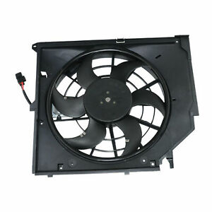 RADIATOR COOLING FAN ASSEMBLY 17117561757 64546988915 FOR BMW 3 SERIES E46 New