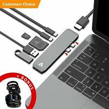 Allintech USB-C Hub Thunderbolt 3 USB 3.0 Type-C Adapter Card Reader Macbook Pro