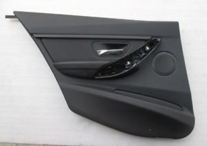 Pannello Porta posteriore Sinistro Sx Nero Originale BMW 3 F30 F31 51427280895