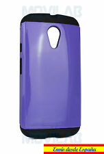 Funda / Carcasa Motorola Moto G2 - XT1068 antigolpes tipo slim armor Violeta